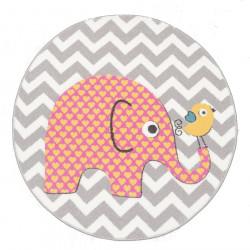 Dětský kusový koberec Pastel Kids 48/SVS kruh