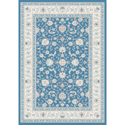 Kusový koberec Silkway F466A Blue