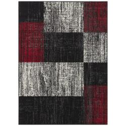 Kusový koberec Mujkoberec Original 104311 Black/Red