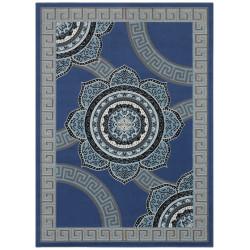 Kusový orientální koberec Mujkoberec Original 104308 Jeans/Blue