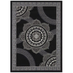 Kusový orientální koberec Mujkoberec Original 104306 Black