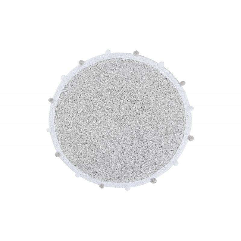 Pro zvířata: Pratelný koberec Bubbly Light Grey