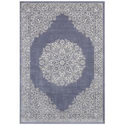 Kusový koberec Mujkoberec Original 104235 Jeansblue/Silver