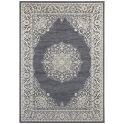 Kusový koberec Mujkoberec Original 104231 Anthracite/Silver