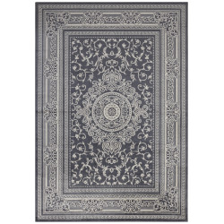 Kusový koberec Mujkoberec Original 104230 Anthracite/Silver