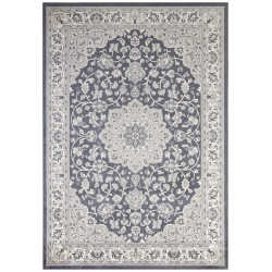 Kusový koberec Mujkoberec Original 104224 Anthracite/Silver