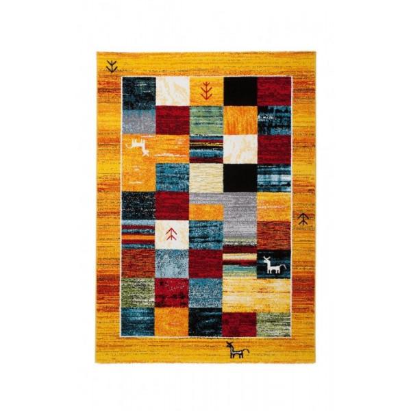 Obsession koberce Kusový koberec Gabbeh 411 ginger, koberců 80x150 cm Oranžová - Vrácení do 1 roku ZDARMA