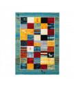 Kusový koberec Gabbeh 411 turquoise