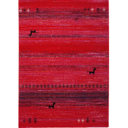 Kusový koberec Gabbeh 412 ruby