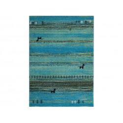 Kusový koberec Gabbeh 412 turquoise