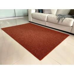 Kusový koberec Modena terra kulatý