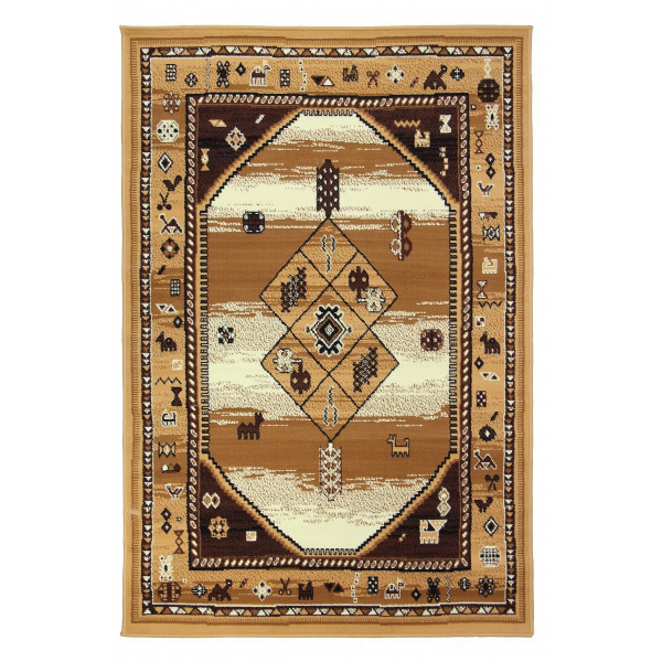Sofiteks koberce Kusový koberec TEHERAN 375/beige, koberců 80x150 cm Béžová - Vrácení do 1 roku ZDARMA