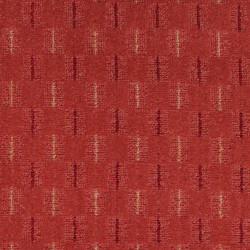 Metrážový koberec Eris 35 červená