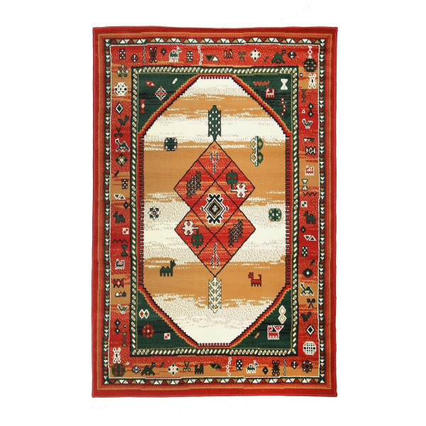 Sofiteks koberce Kusový koberec TEHERAN 375/red, koberců 80x150 cm Červená - Vrácení do 1 roku ZDARMA