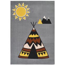 Kusový koberec Vini 104603 Grey/Multicolored