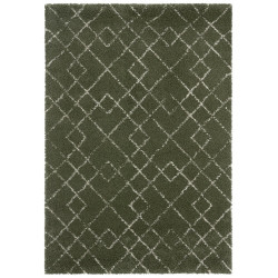 Kusový koberec Allure 104394 Olive-Green/Cream