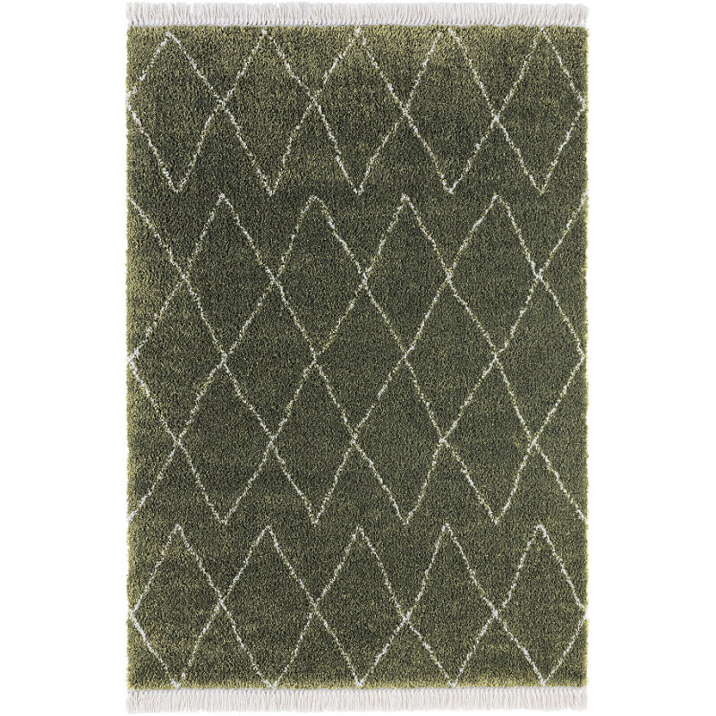Kusový koberec Desire 104402 Olive-Green/Cream