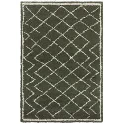 Kusový koberec Grace 104410 Olive Green/Cream