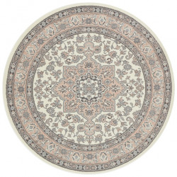 Kruhový koberec Mirkan 104443 Cream/Rose