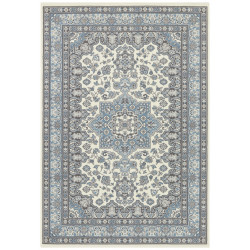 Kusový koberec Mirkan 104442 Cream/Skyblue