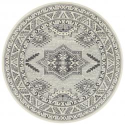 Kruhový koberec Mirkan 104441 Cream
