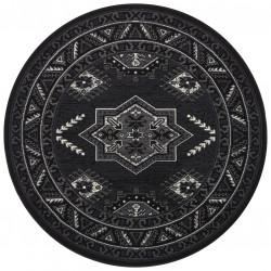Kruhový koberec Mirkan 104440 Black