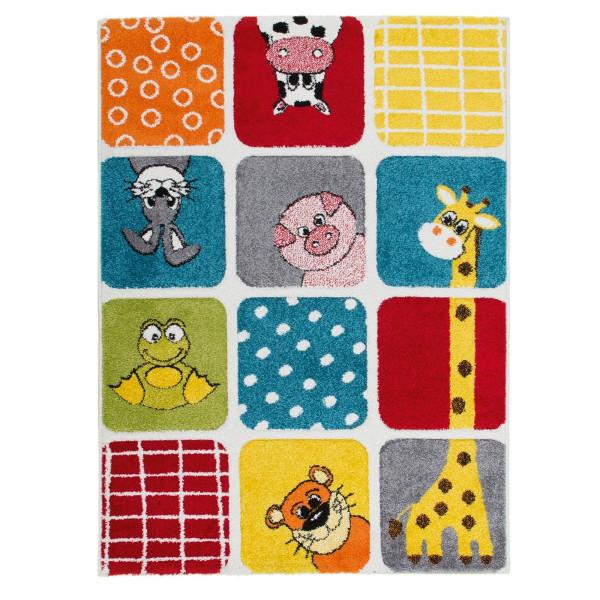 Obsession koberce Kusový koberec Acapulco Kids 140 multi, 80x150 cm% Žlutá, Červená, Zelená, Modrá - Vrácení do 1 roku ZDARMA vč. dopravy