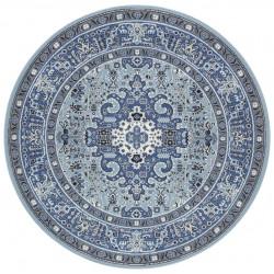 Kruhový koberec Mirkan 104438 Skyblue