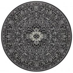 Kruhový koberec Mirkan 104436 Dark-grey