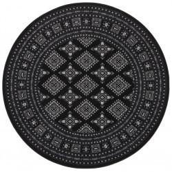 Kruhový koberec Mirkan 104109 Black