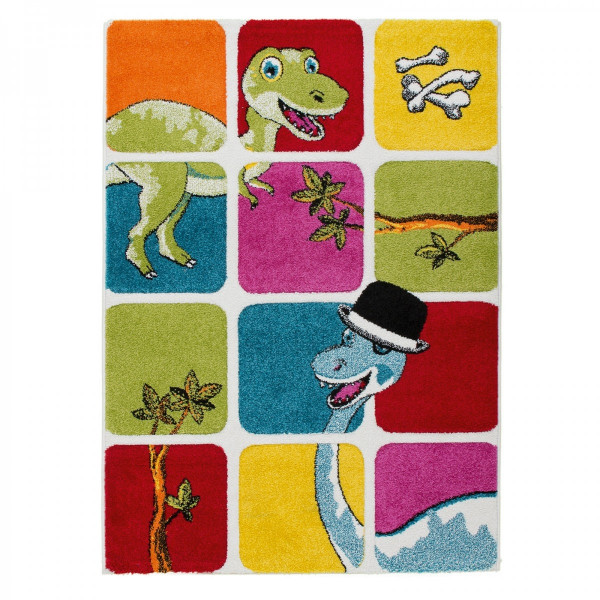 Obsession koberce Dětský kusový koberec Acapulco Kids 141 multi, kusových koberců 120x170 cm% Žlutá, Červená, Zelená, Modrá - Vrácení do 1 roku ZDARMA vč. dopravy