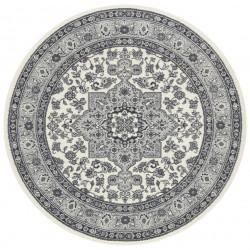 Kruhový koberec Mirkan 104107 Cream/Grey