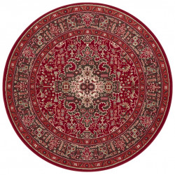 Kruhový koberec Mirkan 104098 Oriental red