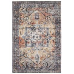 Kusový koberec Farah 104464 Grey/Orange