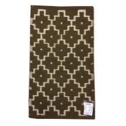 Výprodej - Ručně tkaný pravý indický koberec Woolen Dhurry Autumn