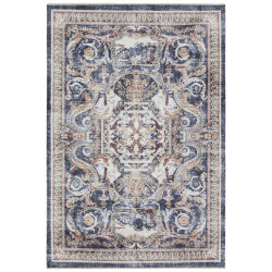 Kusový koberec Farah 104472 Blue/Beige