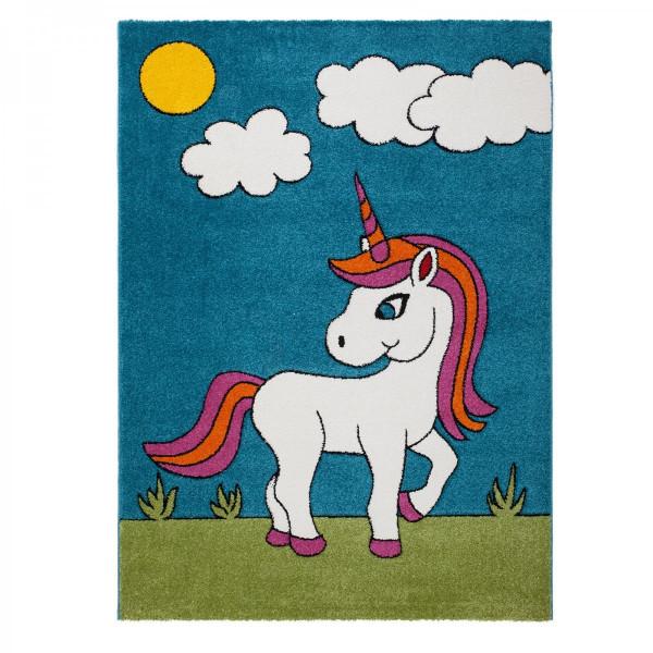 Obsession koberce Dětský kusový koberec Acapulco Kids 144 blue, kusových koberců 120x170 cm% Modrá - Vrácení do 1 roku ZDARMA vč. dopravy