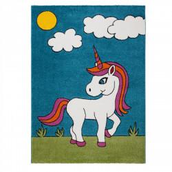 Dětský kusový koberec Acapulco Kids 144 blue