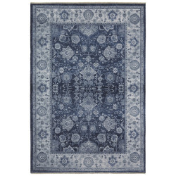 Kusový koberec Farah 104477 Jeans/Blue