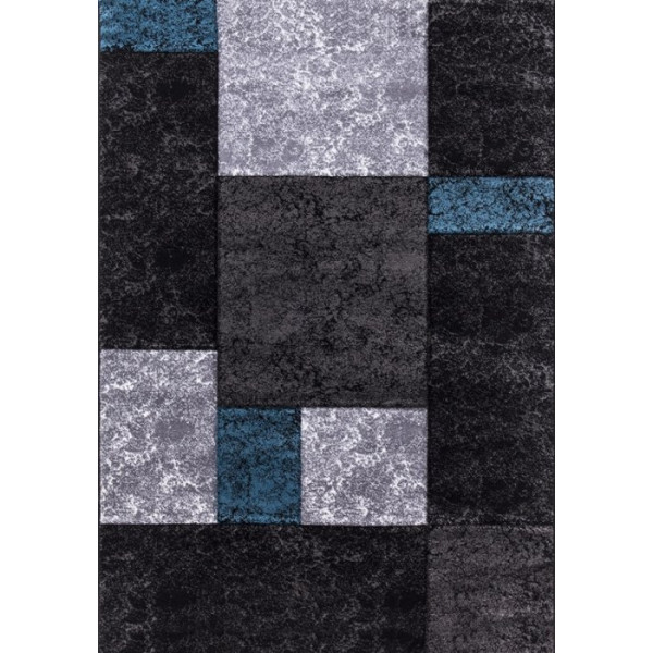 Ayyildiz koberce Kusový koberec Hawaii 1330 tyrkys, koberců 80x300 cm Šedá - Vrácení do 1 roku ZDARMA