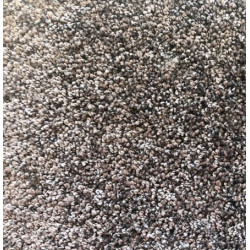 Kusový čtvercový koberec Capri hnědý
