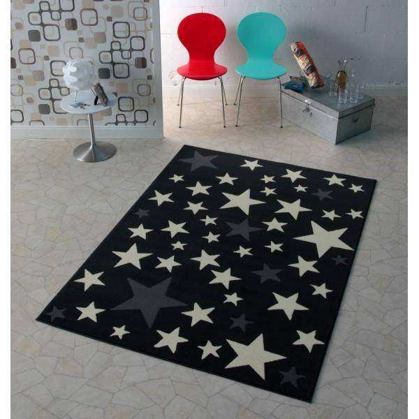 Hanse Home Collection koberce Dětský kusový koberec CITY MIX 102167 140x200 cmcm, koberců 140x200 cm Bílá, Šedá, Černá - Vrácení do 1 roku ZDARMA