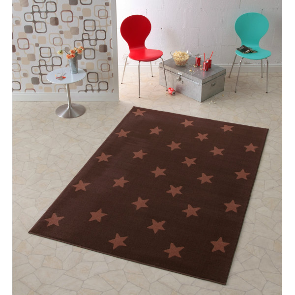 Hanse Home Collection koberce Kusový koberec CITY MIX 102166 140x200 cmcm, koberců 140x200 cm Hnědá - Vrácení do 1 roku ZDARMA