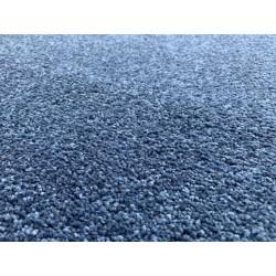 Kusový koberec Eton Exklusive tmavě modrý