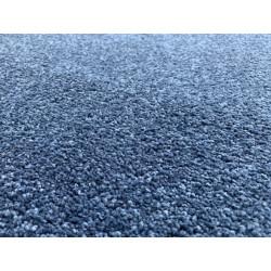Metrážový koberec Eton Exclusive tmavě modrý