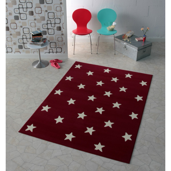 Hanse Home Collection koberce Kusový koberec CITY MIX 102164 140x200 cmcm, kusových koberců 140x200 cm% Bílá, Červená - Vrácení do 1 roku ZDARMA vč. dopravy
