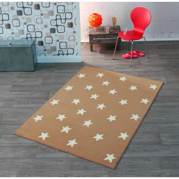 Hanse Home Collection koberce Kusový koberec CITY MIX 102163 140x200 cmcm, koberců 140x200 cm Bílá, Hnědá - Vrácení do 1 roku ZDARMA