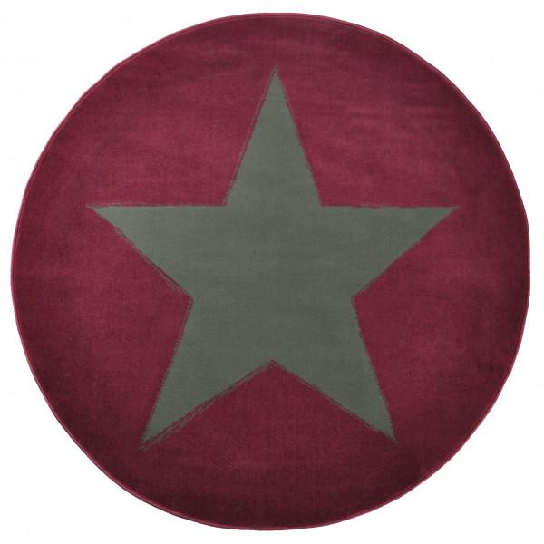 Hanse Home Collection koberce Kusový koberec CITY MIX 102054 140 cm, koberců 140x200 cm Šedá, Fialová - Vrácení do 1 roku ZDARMA