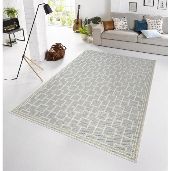 Bougari - Hanse Home koberce Kusový koberec BOTANY Bay Grau - venkovní (outdoor), koberců 115x165 Šedá - Vrácení do 1 roku ZDARMA