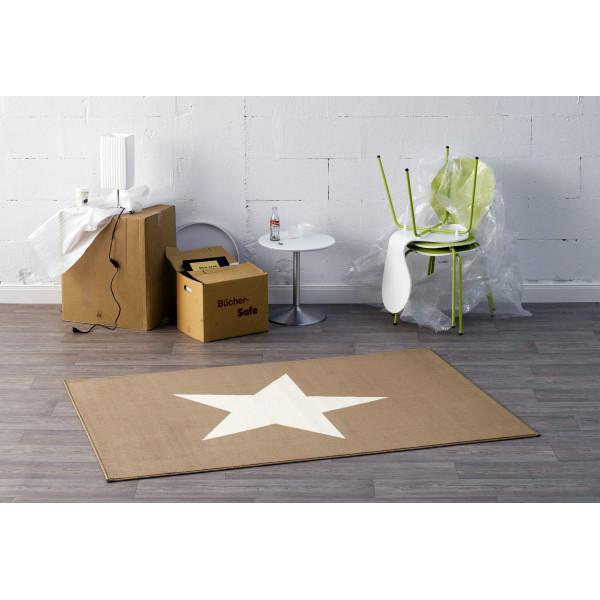 Hanse Home Collection koberce Kusový koberec CITY MIX 102037 140x200 cmcm , koberců 140x200 cm Béžová - Vrácení do 1 roku ZDARMA